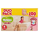 Huggies 婴儿尿布,尺码 4,7-18 公斤,2 x 50 尿布