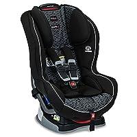 美版Britax 宝得适 Boulevard G4.1 Convertible 儿童安全座椅 Fusion 闪耀黑 适用体重5-65磅 约0-8岁 五点式安全带,40磅以下可反向安装,带美标latch三点式接口(适用isofix接口+latch上拉带),isofix或者安全带安装均可 带Click & Safe Snug Harness Indicator系统 多档高度和角度调节,特有SafeCell冲击保护系统,美亚畅销同款,该款设计,测试,制造均在美国 美国进口 [跨境自营]包邮包税