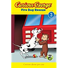 Curious George Fire Dog Rescue (CGTV Reader) (English Edition)