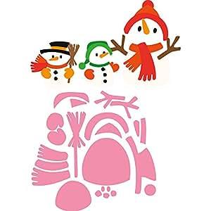 Marianne Design Collectables Eline's 松鼠骰子,粉色 粉红色 21.1 x 15.4 x 0.2 cm MDCOL1413
