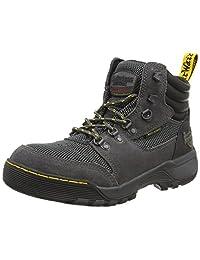 Dr. Martens Unisex Adults' Rapid S1P Safety Shoes, Grey (Dark Shadow+Black/Dark Shadow 031), 6 39 EU