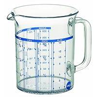 爱慕莎(emsa) 德国原装进口斯伯莱量杯 厨房工具 500ML 带多种刻度量杯 牛奶杯 料理杯 质保10年 可放洗碗机清洗