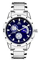 Adamo Analogue Blue Dial Watch for Men- AD108-2