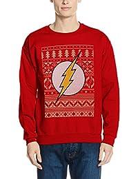 CID 男士 The Flash-Fair Isle 标志运动衫