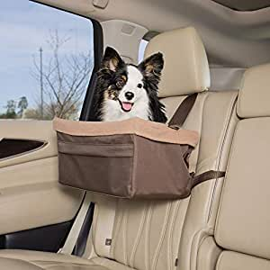 Solvit Tagalong Pet Booster Seat, Standard 褐色 大