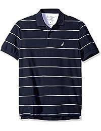Nautica 诺帝卡 男式 条纹 Polo 衫