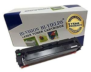 hi-vision 兼容 HP cf410a [ 410A ] 黑色 ( 2,300页 ) LaserJet 墨盒替换件适用于 Color LaserJet Pro m452nw , m452dw , MFP FNW , MFP FNW , m452dn , MFP m477FDN