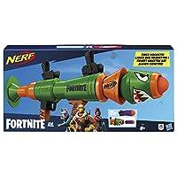 Nerf Fortnite RL 玩具枪 - 发射泡沫火箭 - 包括 2 个官方 Nerf Fortnite 火箭 - 适合青少年、成年人