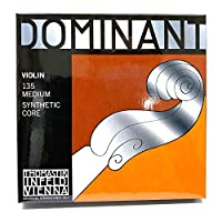 Thomastik-Infeld 135 Dominant 小提琴弦,全套,135,4/4 尺寸,鋁制*球端 E 弦
