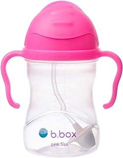 b.box 吸管杯 袋创新重量吸管 粉红石榴色(哑光盖)