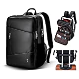 14 inch School Business Laptop Backpack - Water Resistant - Lightweight Nylon - Travel or School Laptop Computer Backpack 黑色 16.14x11.42x6 inch