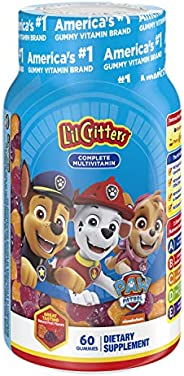 Lil Critters 狗狗巡逻队完整复合维生素软糖 60 Count (Pack of 1)