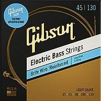 Gibson Brite 电线电贝司弦,长比例 - 轻量级(5 弦)