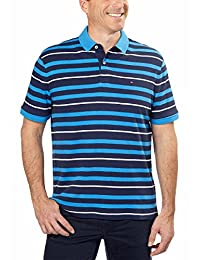 Tommy Hilfiger 男式双面布 Polo 短袖衬衫