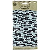 Tim Holtz 创意学。 Chitchat Word 贴纸,黑白哑光卡片纸,1088 张贴纸,TH92998