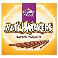 Quality Street 雀巢咸焦糖巧克力Matchmakers, 120克 (10个包装)