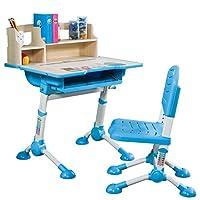 心家宜-儿童成长可升降学习游戏桌椅套装 专为3-12岁儿童设计 环保 王子蓝 客服微信/电话:18026959365(亚马逊自营商品, 由供应商配送)