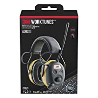 3M 3M worktunes 无线听力保护带蓝牙技术和 AM/FM 数码收音机 ( 90542可–3dc ) Wired 1包