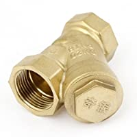 2.7 厘米内径 Y 型卫生黄铜过滤器适用于水管