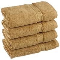 Superior 900克埃及棉4件擦手巾套件 土司棕