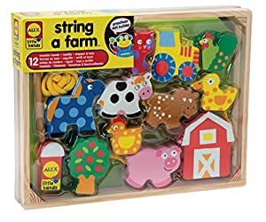 ALEX 玩具小型手工 String A Farm