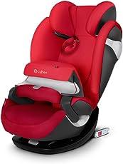 CYBEX 赛百斯德国进口汽车儿童安全座椅Pallas m-fix isofix硬接口 17款英伦红 适用于9个月至12岁的儿童(约9-36公斤)