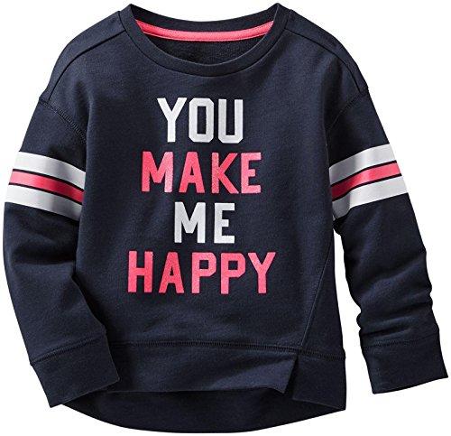 OshKosh B'GoshパターンスウェットシャツMake Me Happy 5