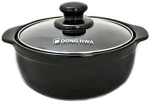 "陶瓷 Earthen pot 34oz,7"" 黑色 7 "" DH702"