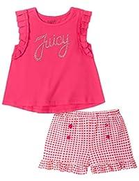 Juicy Couture 橘滋 女童 2 件短裤套装