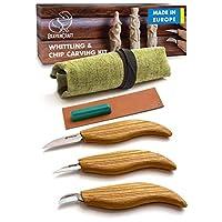 木质雕刻工具套装 - 切削刀具套装 - *刀套装*工具木雕刻初学者用 Wood Carving Kit S15