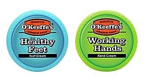 O'Keeffe's护手霜&护足霜套装 Pack of Jars
