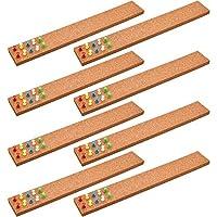 8 件软木布告栏带软木板条带 40 件推销适用于办公室家庭学校用品