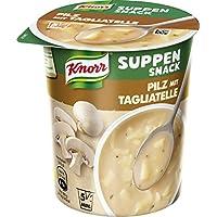 Knorr Suppen Snack Pilz mit Tagliatelle, 8er Pack (8 x 40 g)