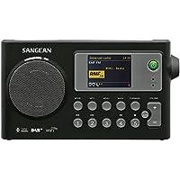 Sangean WFR-27C 互联网收音机,FM-RDS,DAB+ 网络音乐播放器数字接收器