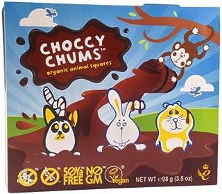 Moo Free Choccy Chums 动物形状巧克力 98克 (12件装)