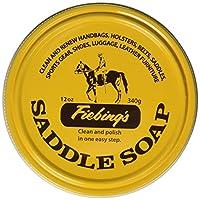 Fiebing's 黄色马鞍皂(3 只装),12 盎司
