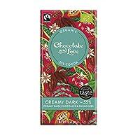 Chocolate & Love 奶油黑55%巧克力和可可豆瓣 80克(14包)