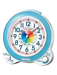 Seiko 精工 台式时钟 01:蓝色表身 尺寸:13.4 x 13.0 x 8.7cm 闹钟 智能 模拟 BC410L