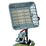Einhell 燃气采暖器 GS 4400(加热功率2900-4400 W,内含气体压力调节器50毫巴,气体软管,调节器,用于所有标准气瓶)