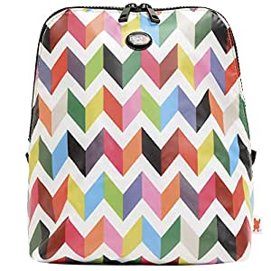 French Bull - Portable Slim Lunch Bag - Insulated Zip Cooler Bag - Kat Ziggy White Slim
