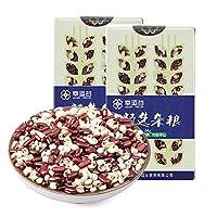 幸运谷 赤豆薏米粥2KG 小薏米 薏米赤小豆汤组合新货农家长粒赤豆薏仁米红豆粥薏苡仁