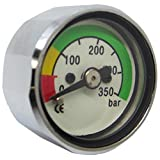 Scuba Choice Scuba Diving Pony Bottle Pressure Gauge with 350 BAR