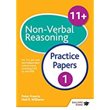 11+ Non-Verbal Reasoning Practice Papers 1: For 11+, pre-test and independent school exams including CEM, GL and ISEB (English Edition)