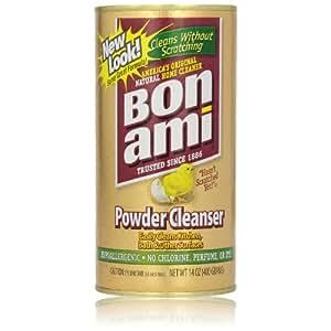 BonAmi 宝纳米 去污粉400g (百年历史 绿色生态厨房卫浴 不锈钢瓷砖多功能清洁剂 绝不磨损天然无味)(进口)(特卖)