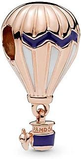 SUNWIDE 热气球纯银 Pandora 魅力适合手链
