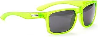 Gunnar Intercept Kryptonite 綠色戶外高級游戲眼鏡,帶可調節硅膠鼻托(電子游戲)