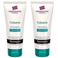 Neutrogena 露得清 Norwegische Formel 护脚霜 保湿型脚部护理 适合干燥脚部 提供 24 小时保湿* 2 × 100 毫升