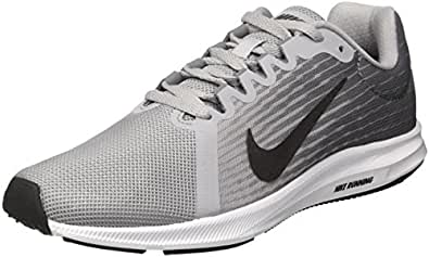 Nike Women's Downshifter 8 Training Shoes, Grey (Wolf Grey/Metallic Dark Grey Cool Grey-Black-White 006), 7.5 UK 42 EU