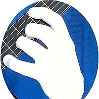 吉他手套,低音手套,音乐家练习手套 - M - 5 件装DG-5PACK-M-W 中
