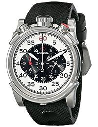 CT Scuderia 男式 CS10114 模拟显示瑞士石英黑色手表